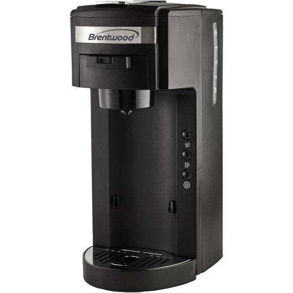 Brentwood Appliances Single-Serve Black Coffee Maker
