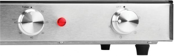 Brentwood Appliances Double Infrared Electric Countertop Burner