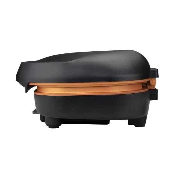 Brentwood Appliances 2-Serving Nonstick 750-Watt Indoor Electric Copper Grill and Panini Press