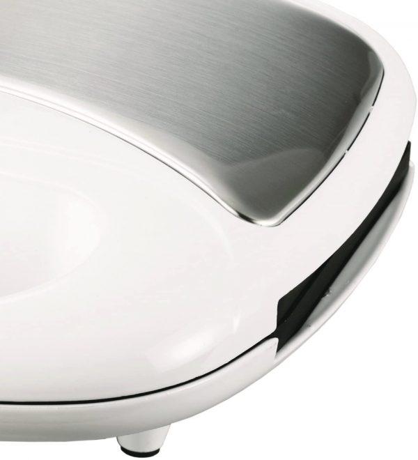 Brentwood Appliances Nonstick Dual Waffle Maker - White