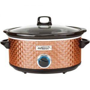 Brentwood Appliances 7-Quart Slow Cooker - Copper