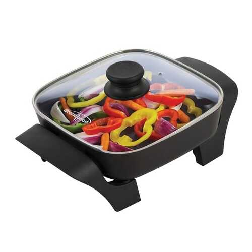 Brentwood Appliances 8-Inch Nonstick Electric Skillet with Glass Lid