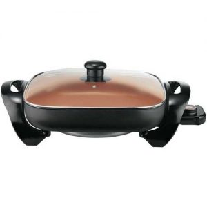 Brentwood Appliances 12-Inch Nonstick Copper Electric Skillet