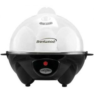 Brentwood Appliances Electric Egg Cooker with Auto Shutoff - Black