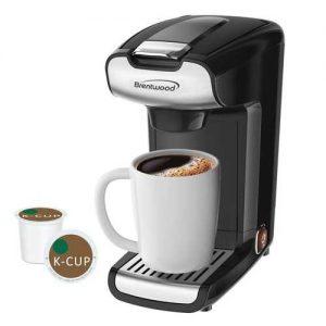 Brentwood Appliances K-Cup Single Serve Coffee Maker