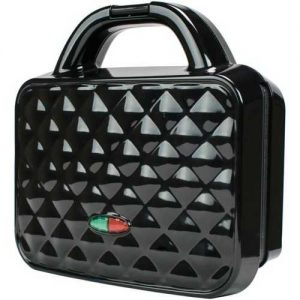 Brentwood Appliances Couture Purse Nonstick Dual Waffle Maker - Black