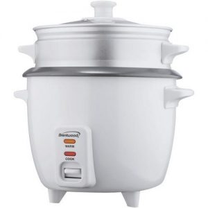 Brentwood Appliances 15-Cup Rice Cooker with Food Steamer