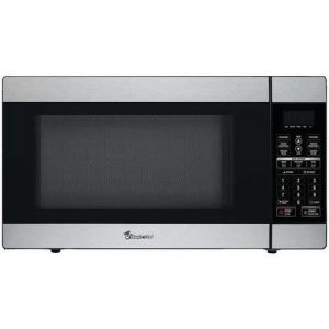 Magic Chef 1.8 Cubic-ft 1,100-Watt Stainless Steel Microwave with Digital Touch