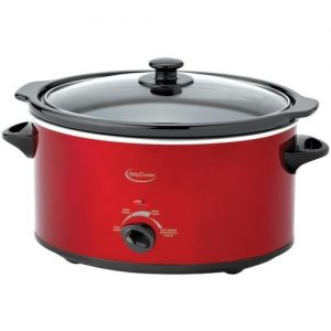 Betty Crocker 5-quart Oval Slow Cooker With Travel Bag