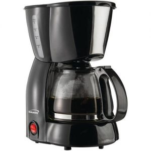 Brentwood Black 4-cup Coffee Maker