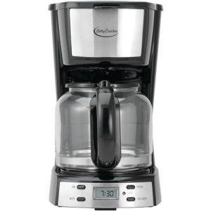 Betty Crocker 12-Cup Stainless Steel Coffee Maker