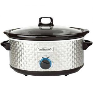 Brentwood Appliances 7-quart Slow Cooker (Silver)