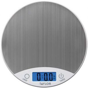 Taylor Precision Products Stainless Steel Digital Kitchen Scale
