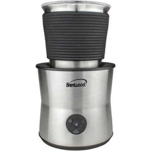 Brentwood 15-Ounce Cordless Electric Milk Frother, Warmer And Hot Chocolate Maker