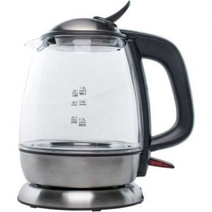 Brentwood 1-liter Cordless Glass Electric Kettle