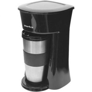 Starfrit Single-Serve Drip Coffee Maker with Bonus Travel Mug
