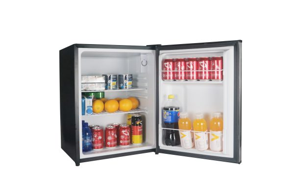 Magic Chef 2.4 Cubic-Ft Stainless Steel Refrigerator