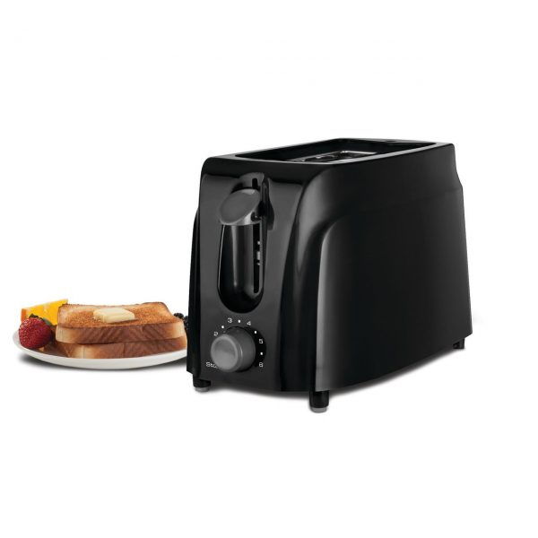 Brentwood Appliances Cool-Touch 2-Slice Toaster - Black