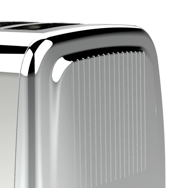 Brentwood Appliances Extra Wide Slot 2-Slice Toaster
