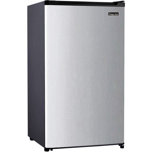 Magic Chef 3.2 Cubic-Ft Compact Refrigerator (Silver)