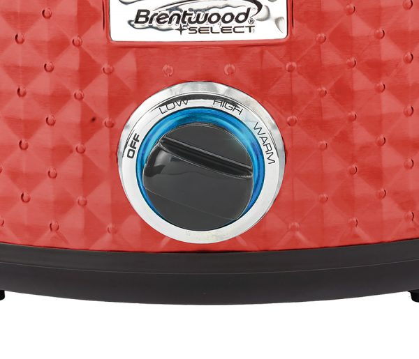 Brentwood Appliances 7-Quart Slow Cooker - Red